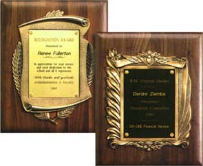 Plaques and trophy samples | paperdirect blog.